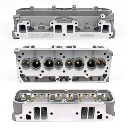 TA 350 Stage 1 Street Eliminator Cylinder Heads - BARE CASTINGS