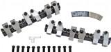 1.70 Ratio Roller Rockers for TA V3850SE V6 Cylinder Heads