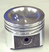 231-V6 FORGED PISTON-NO NOTCH